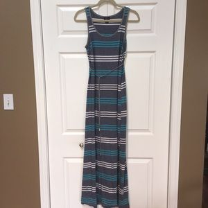 Oh Baby by Motherhood Striped Maxi Dress